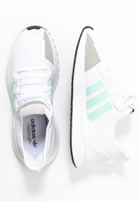 adidas Originals - PATH RUN  - Sneakers laag - footwear white/clear mint/core black - 3