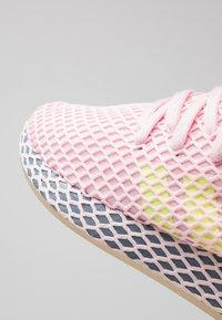 adidas Originals - DEERUPT RUNNER  - Trainers - clear pink/hi-res yellow/raw steel - 2