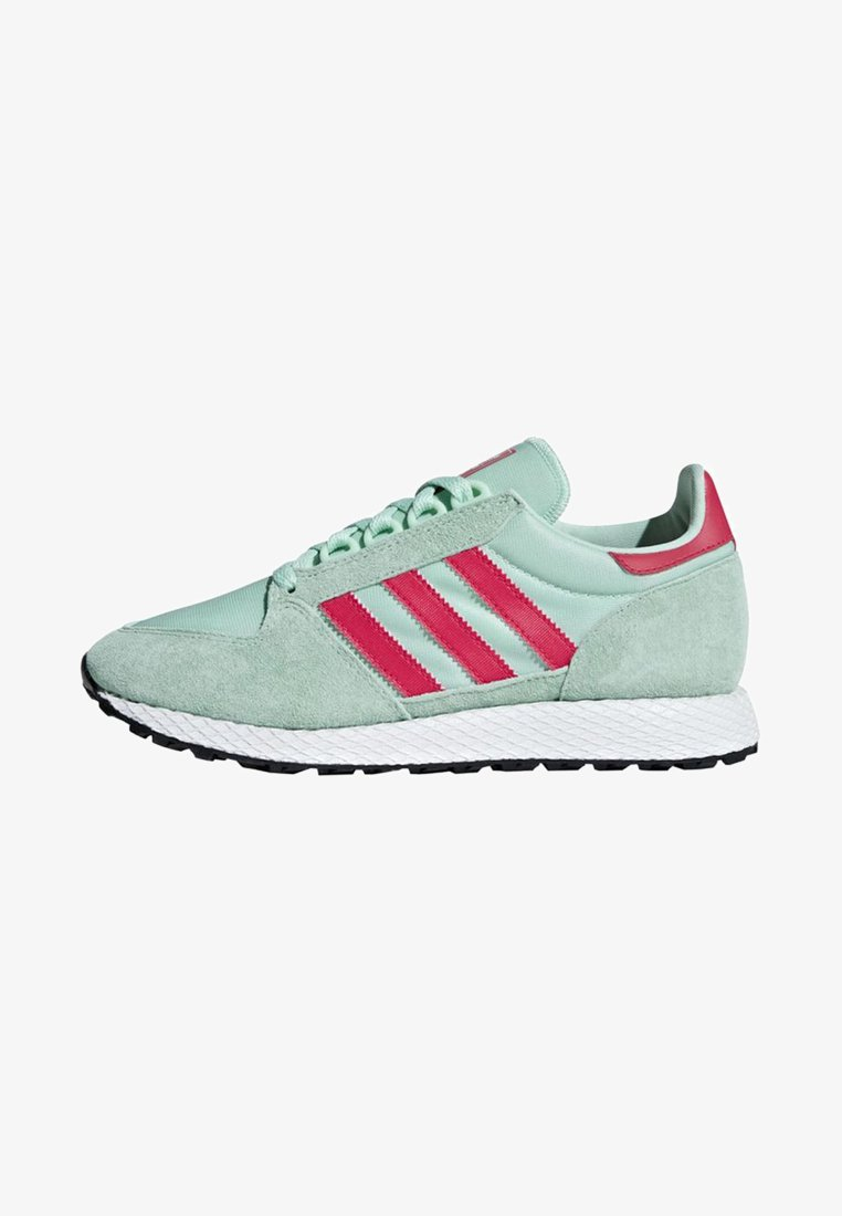 adidas Originals - FOREST GROVE SHOES - Sneakers laag - turquoise