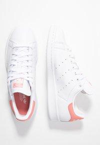 adidas Originals - STAN SMITH - Baskets basses - footwear white/tactile rose - 3