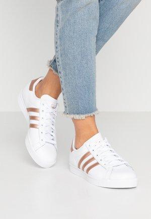 COAST STAR - Sneakers - footwear white/copper metallic/core black