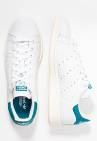 adidas Originals - STAN SMITH - Sneakers laag - footwear white/active teal/offwhite - 3