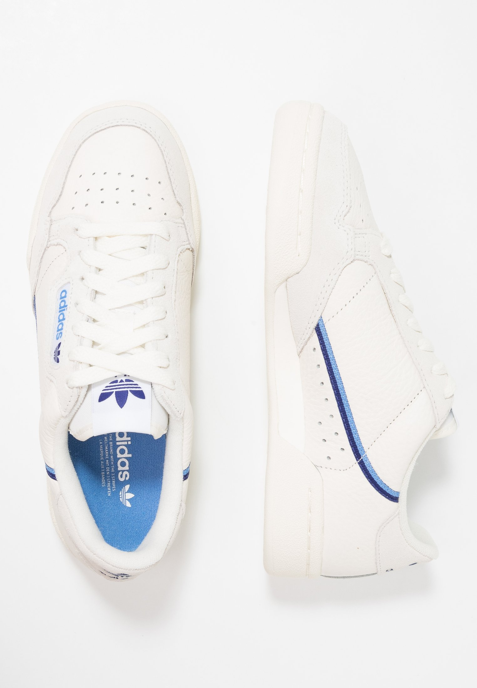 CONTINENTAL 80 - Zapatillas - offwhite/cloud white/raw white