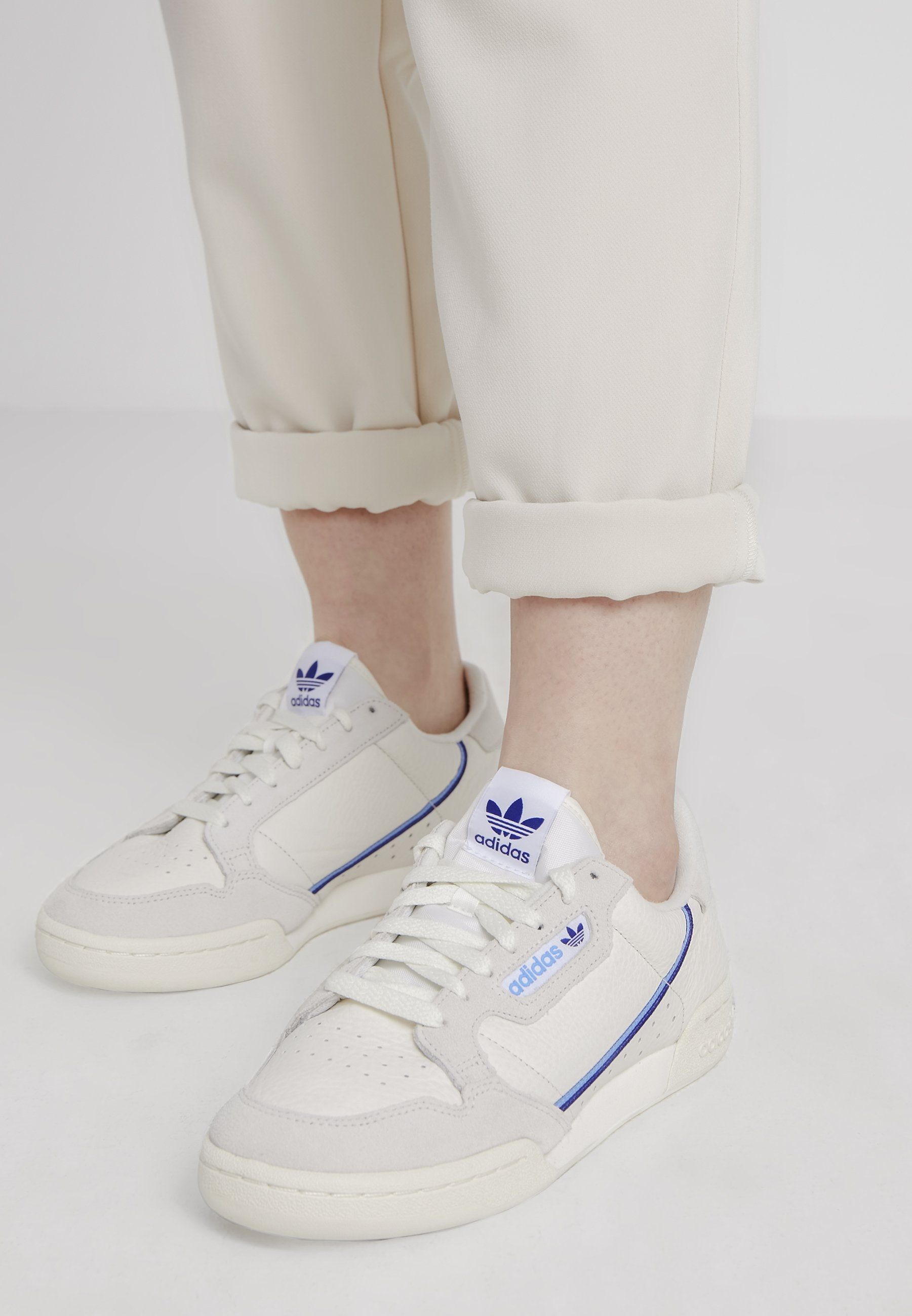 adidas Originals CONTINENTAL 80 - Sneakers laag - offwhite ...
