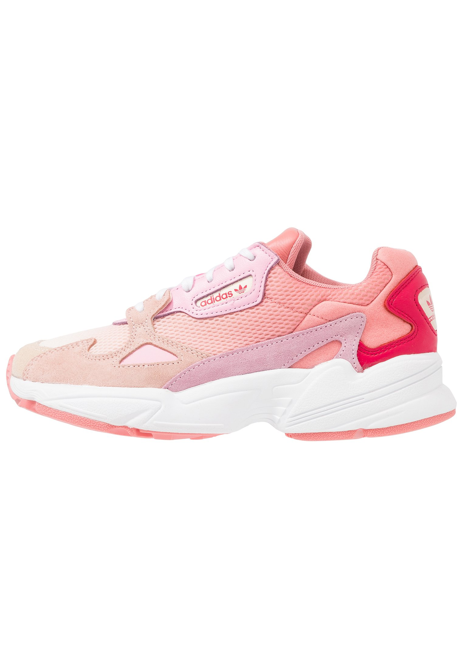adidas Originals FALCON - Sneakers basse - ecru tint/ice pink/true pink