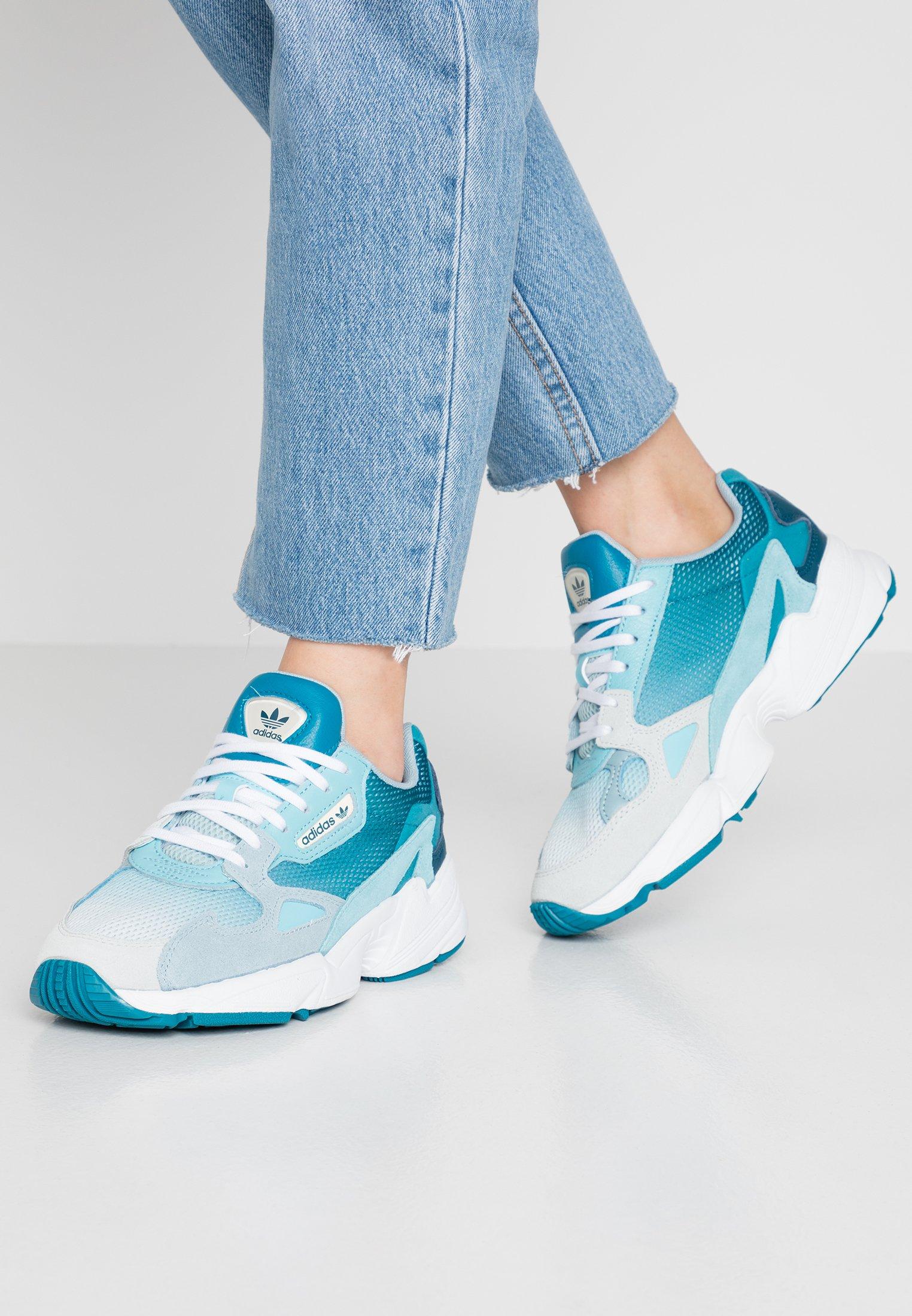 Adidas Originals Falcon - Trainers Blue Tint/light Aqua/ash Grey