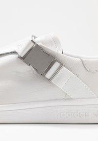 adidas Originals - STAN SMITH - Trainers - footwear white/gold metallic - 2