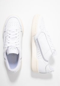 adidas Originals - CONTINENTAL 80  - Sneakers laag - footwear white/chalk white/silver metallic - 5