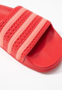 adidas Originals - ADILETTE - Sandaler - scarlet/flash red - 2