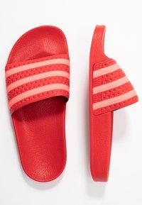 adidas Originals - ADILETTE - Sandaler - scarlet/flash red - 3