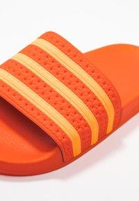 adidas Originals - ADILETTE - Mules - orange/flash orange - 2