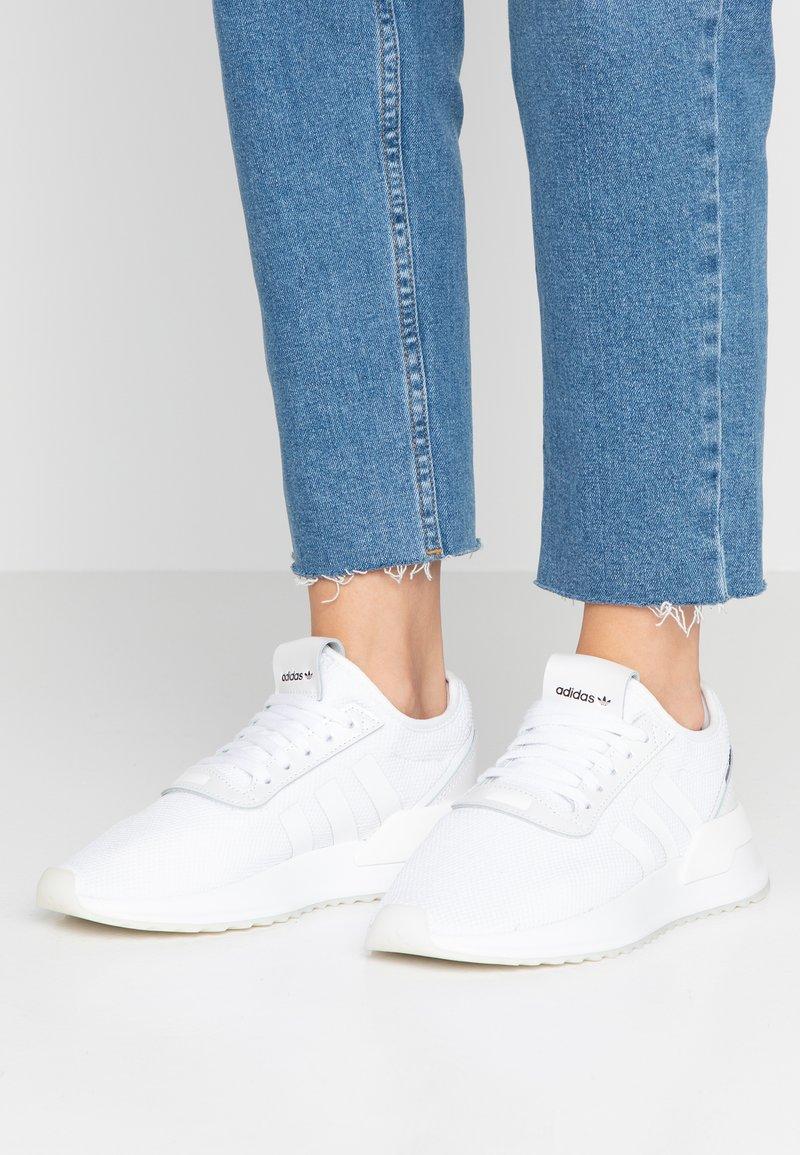 adidas Originals - U_PATH X RUNNING-STYLE SHOES - Joggesko - footwear white/purple bea/clear black
