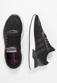 adidas Originals - U_PATH X RUNNING-STYLE SHOES - Trainers - core black/purple beauty/footwear white - 3