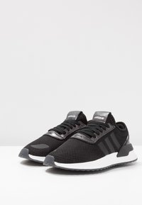 adidas Originals - U_PATH X RUNNING-STYLE SHOES - Trainers - core black/purple beauty/footwear white - 5