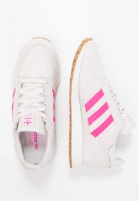 adidas Originals - FOREST GROVE - Matalavartiset tennarit - orchid tint/shock pink/footwear white - 3