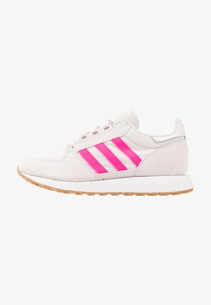 FOREST GROVE - Sneaker low - orchid tint/shock pink/footwear white