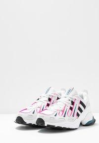 adidas Originals - EQT GAZELLE - Sneakers - crystal white/core black/shock pink - 6