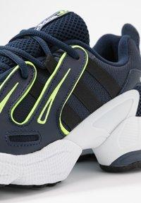 adidas Originals - EQT GAZELLE - Baskets basses - collegiate navy/silver metallic/solar yellow - 2