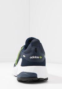 adidas Originals - EQT GAZELLE - Baskets basses - collegiate navy/silver metallic/solar yellow - 5