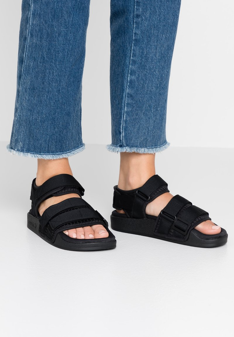 adidas Originals - ADILETTE 2.0 - Sandals - core black