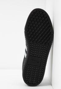 adidas Originals - SAMBAROSE - Sneakersy niskie - core black/silver metallic - 6