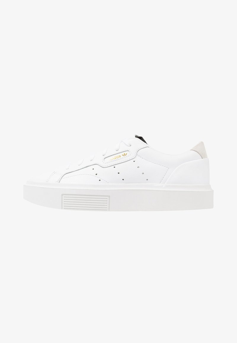 adidas Originals - SLEEK SUPER  - Sneakers laag - footwear white/crystal white/core black