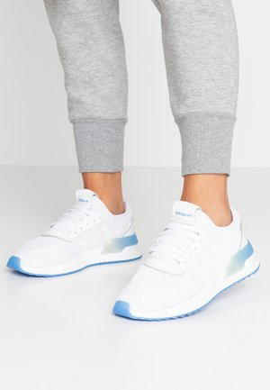 U_PATH X - Baskets basses - footwear white/real blue/night metallic
