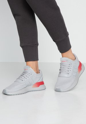 U_PATH X - Sneaker low - grey two/shock red/night metallic