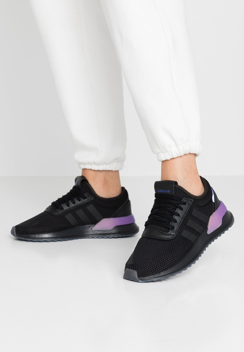adidas Originals - U_PATH X - Trainers - core black/energy ink/footwear white