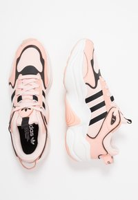 adidas Originals - MAGMUR RUNNER - Trainers - glow pink/ice pink/crystal white - 3