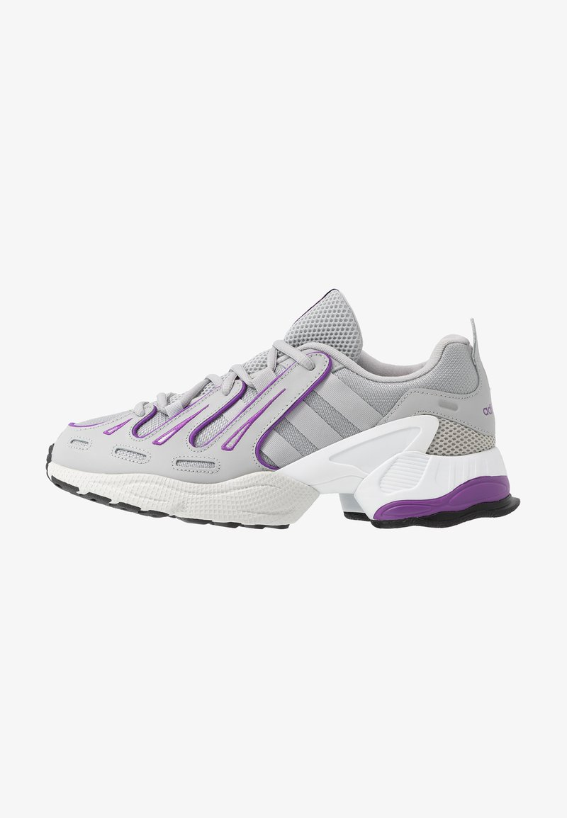 adidas Originals - EQT GAZELLE - Baskets basses - grey two/active purple