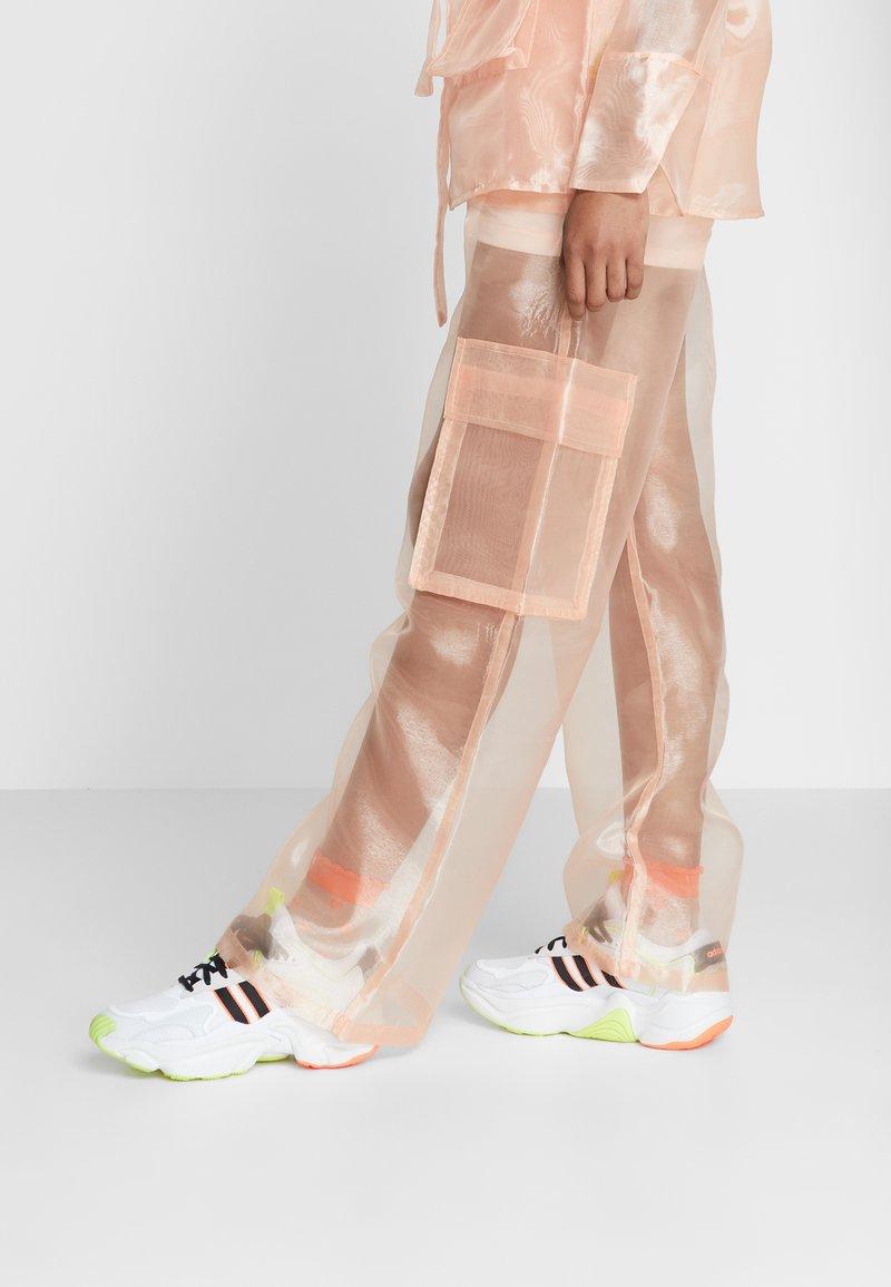 adidas Originals - MAGMUR RUNNER ADIPRENE+ RUNNING-STYLE SHOES - Trainers - crystal white/core black/footwear white