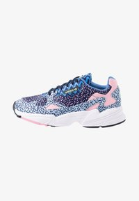 adidas Originals - FALCON - Trainers - collegiate navy/glow blue/true pink - 1