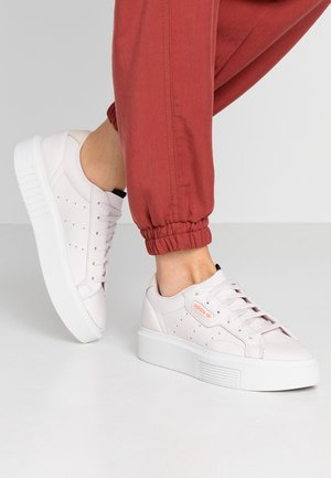 SLEEK SUPER - Trainers - footwear white/orchid tint