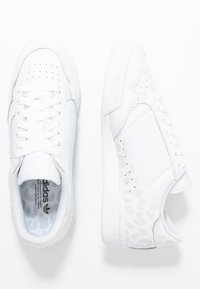 adidas Originals - CONTINENTAL 80 SKATEBOARD SHOES - Sneakers laag - footwear white/crystal white/core black - 3