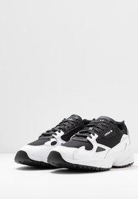 adidas Originals - FALCON TRAIL - Trainers - core black/footwear white - 6