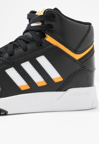 adidas Originals - DROP STEP BASKETBALL-STYLE SHOES - Vysoké tenisky - core black/footwear white/gold - 2