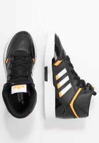 adidas Originals - DROP STEP BASKETBALL-STYLE SHOES - Vysoké tenisky - core black/footwear white/gold - 3