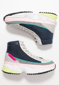 adidas Originals - KIELLOR XTRA - Korkeavartiset tennarit - collegiate navy/grey one - 5