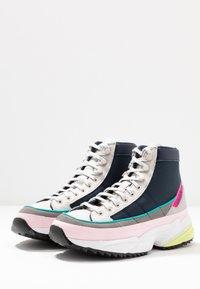 adidas Originals - KIELLOR XTRA - Korkeavartiset tennarit - collegiate navy/grey one - 6