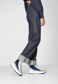 adidas Originals - KIELLOR XTRA - Korkeavartiset tennarit - collegiate navy/grey one - 0