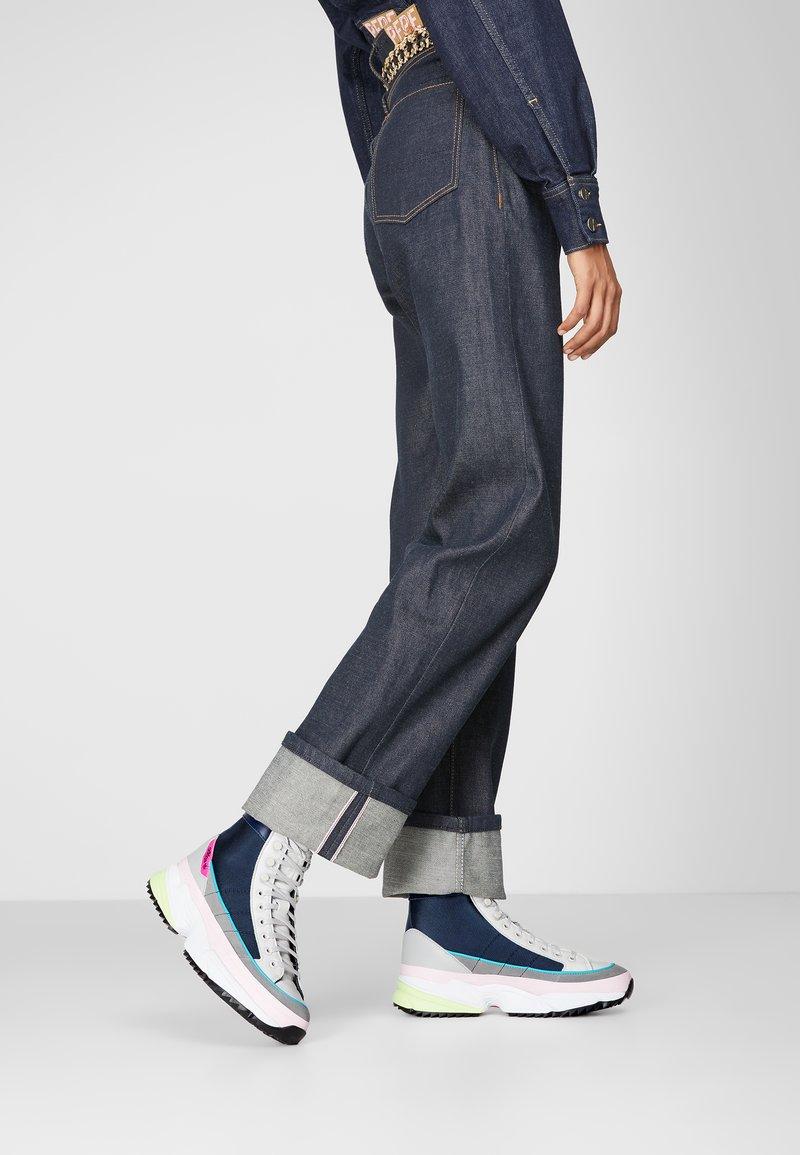 adidas Originals - KIELLOR XTRA - Korkeavartiset tennarit - collegiate navy/grey one
