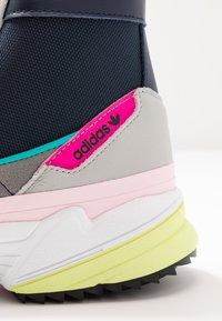 adidas Originals - KIELLOR XTRA - Korkeavartiset tennarit - collegiate navy/grey one - 2