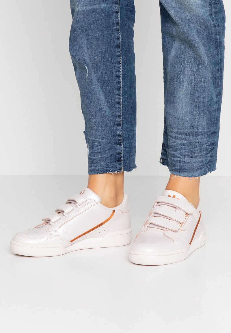 adidas Originals - CONTINENTAL 80 STRAP - Sneakers basse - orchid tint/copper metallic