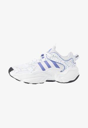 MAGMUR RUNNER - Trainers - footwear white/chalk purple/core black