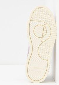 adidas Originals - SUPERCOURT - Sneakersy niskie - soft vision/ice mint - 8