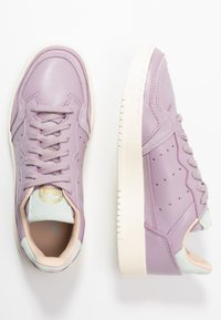 adidas Originals - SUPERCOURT - Sneakers laag - soft vision/ice mint - 5