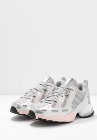 adidas Originals - EQT GAZELLE - Trainers - grey two/matte silver/ice pink - 4