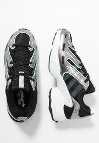 adidas Originals - EQT GAZELLE - Trainers - core black/metal/ice mint - 3