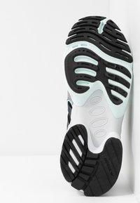 adidas Originals - EQT GAZELLE - Trainers - core black/metal/ice mint - 6